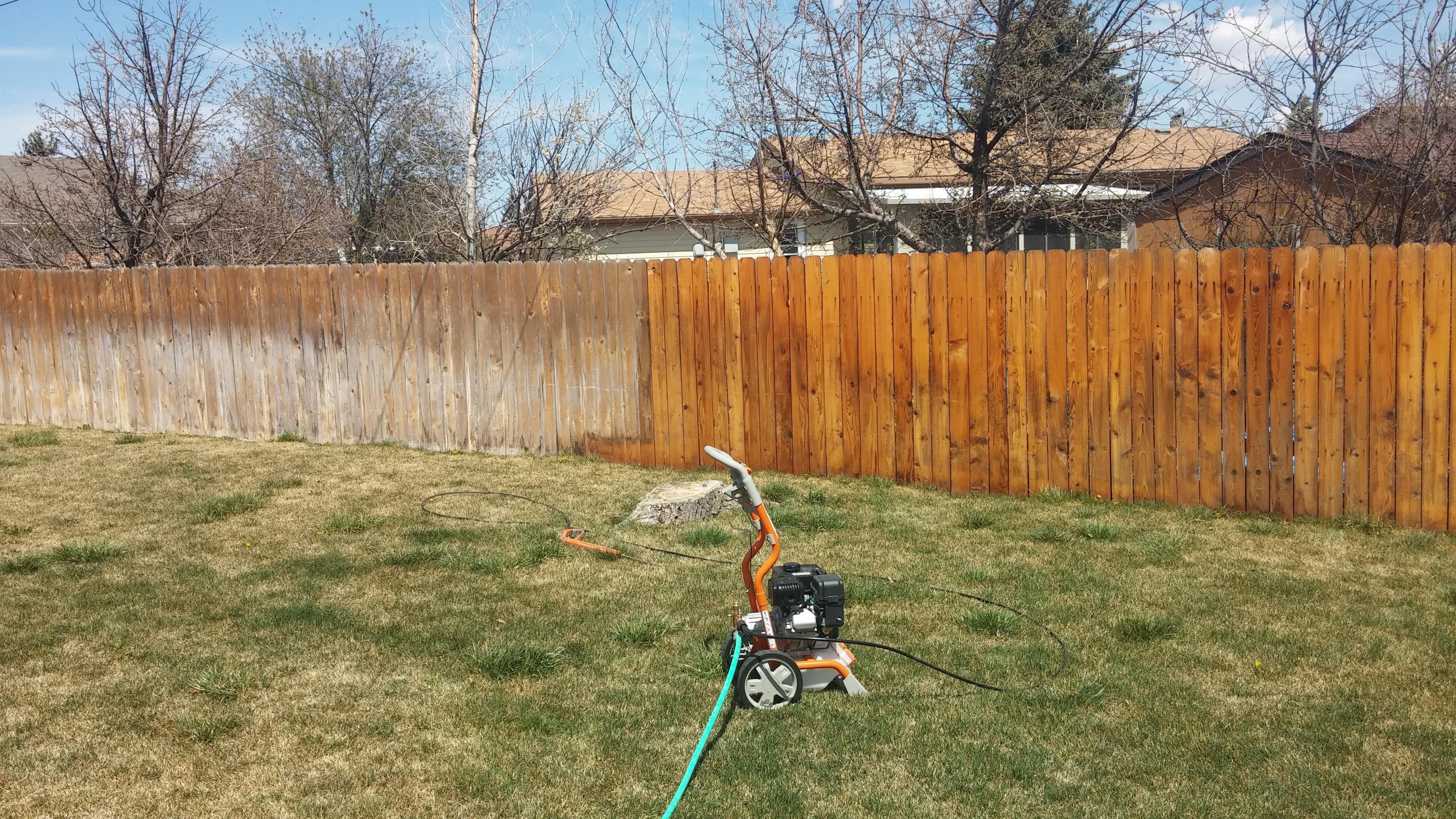 Deck Fence Staining Cheyenne Wy Custom Home Painters Of Cheyenne